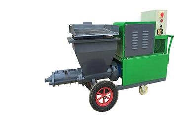 GLP-511 5m3/H Cement Mortar Spray Plastering Machine Mortar Spraying Machine