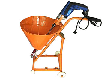 Electric Power Cement Mortar Spraying Paint Machine