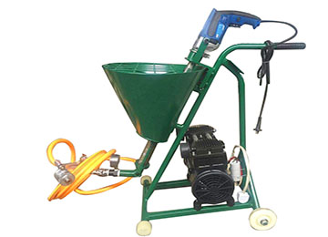 High Pressure Wall Cement Mortar Spraying Plaster Machine
