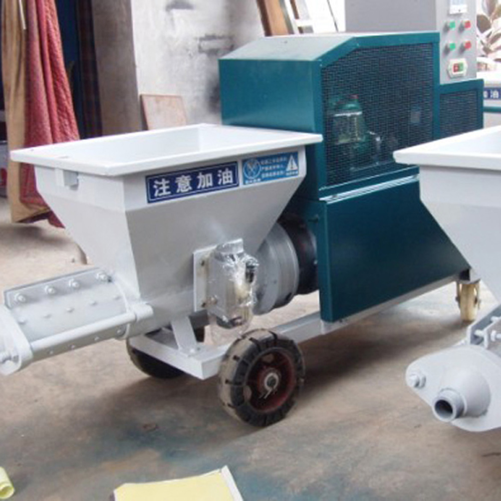 Cement Plaster Spraying Machine Makes Things Easier